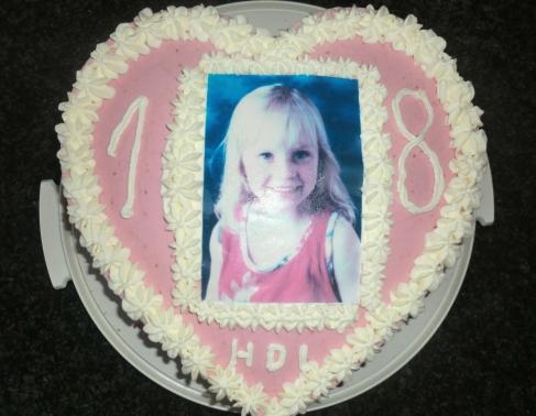 Geburtstagstorte zum 18. Geburtstag