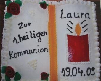 Kommunionbuch Laura