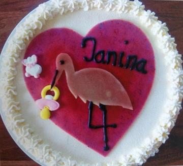 Tauftorte Janina