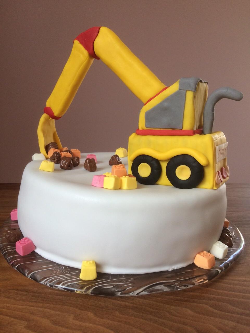 Bagger Torte Zuckerkuss