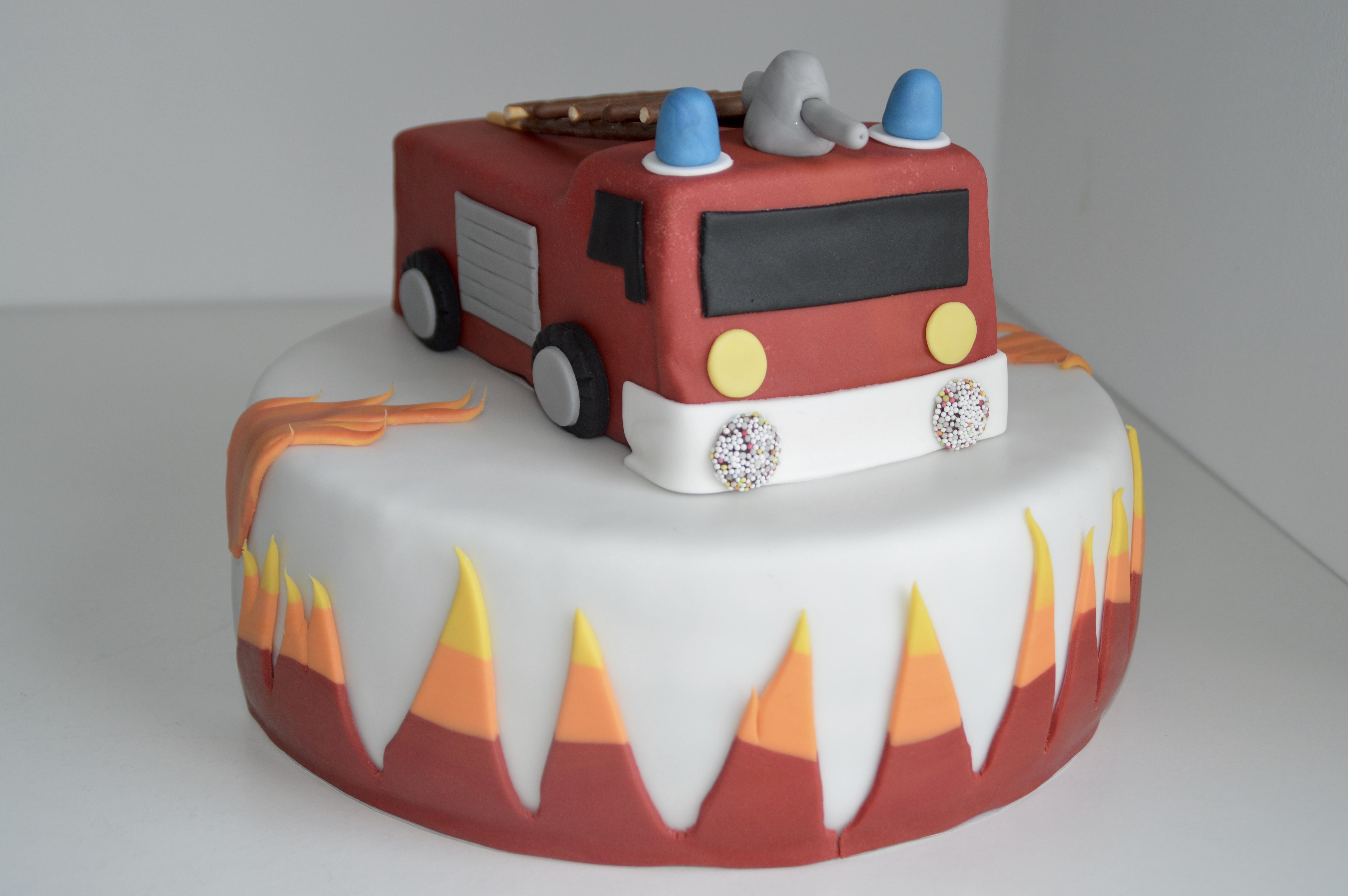Feuerwehr Torte Zuckerkuss