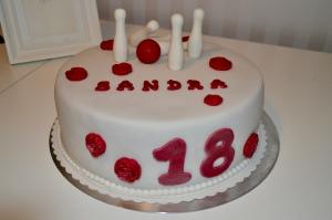 Geburtstagstorte Sandra