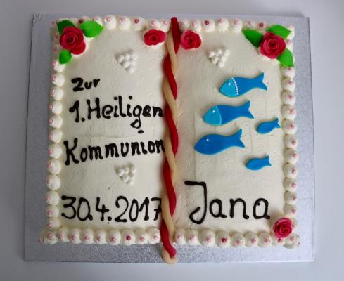 Kommunionbuch Jana