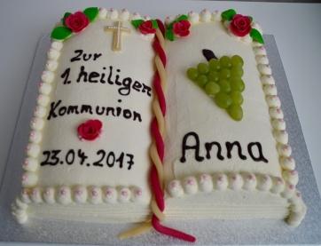 Kommunionbuch Anna